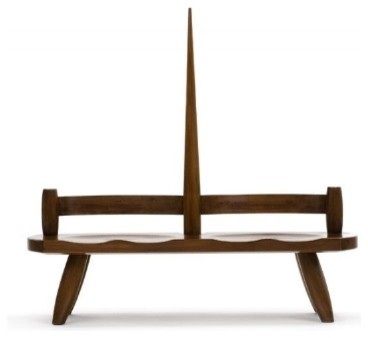 Mandacaru Bench by Carlos Motta contemporary-indoor-benches