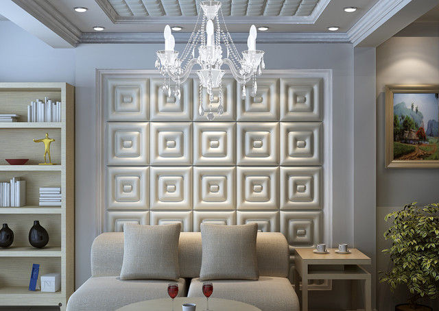 Leather Tile Panels From Royal Stone & Tile - Contemporary - Wallpaper ...