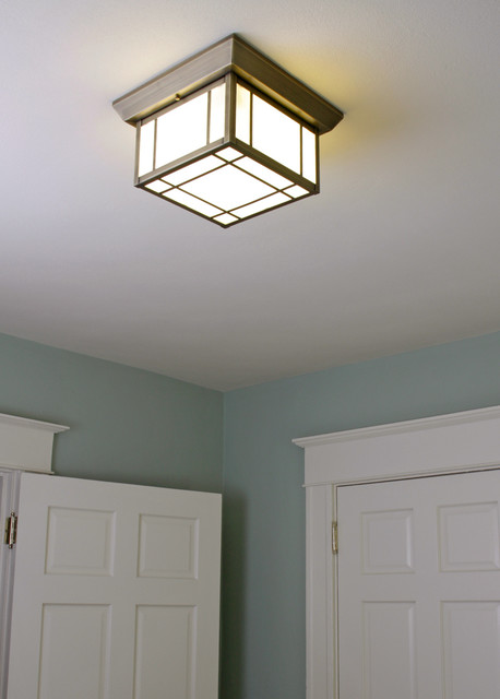 Small bedroom light craftsman ceiling lighting for Bedroom ceiling lights