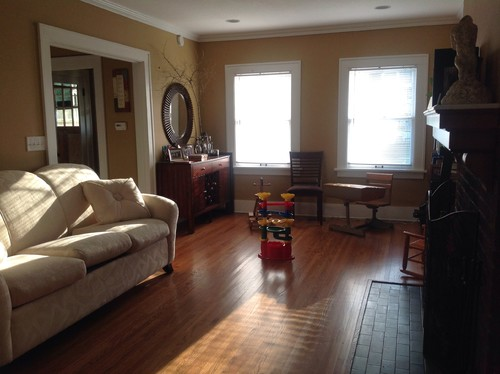 Awkward Living Room Need Help With Furniture And Artwork