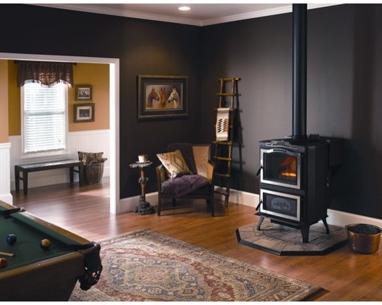 Harman Magnum Stoker Coal Stove - The Super Magnum Stoker breaks the barriers of coal heating. Sophisticated temperature controls and a blower system keep your heating consistent; while venting options let you distribute the warmth to other living spaces.