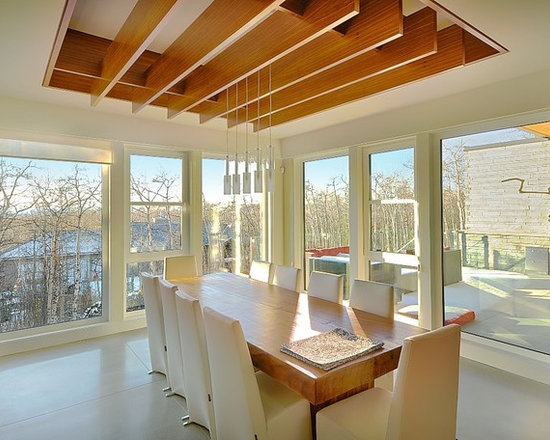 Dining Rooms | Brighten Your Meal - Private Residence in Calgary, AB | Innotech Windows Canada, Inc.