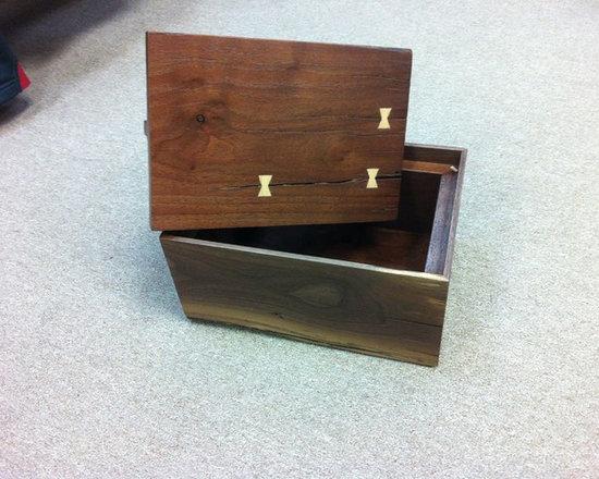 Past Projects - Walnut Box