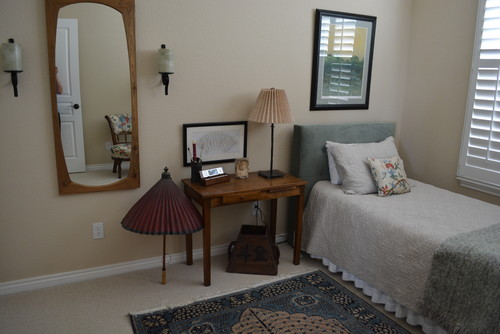 if i should do just this small guest bedroom in a different color