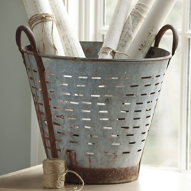 Found Olive Bucket traditional-originals-and-limited-editions
