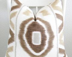 Throw Pillow Ikat by Chic Decor Pillows contemporary-decorative-pillows
