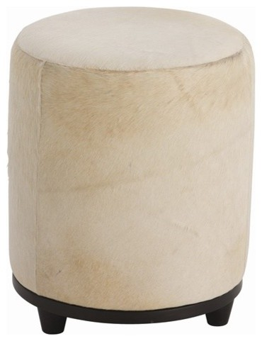 Arteriors Wimberley Leather Ottoman contemporary-footstools-and-ottomans