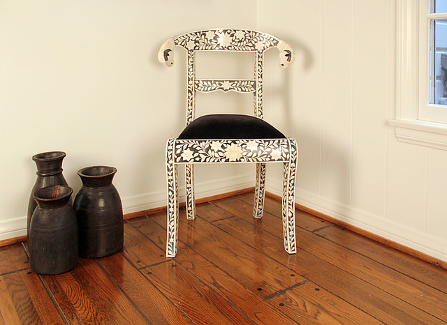 Bone inlay chair - IC009 chairs