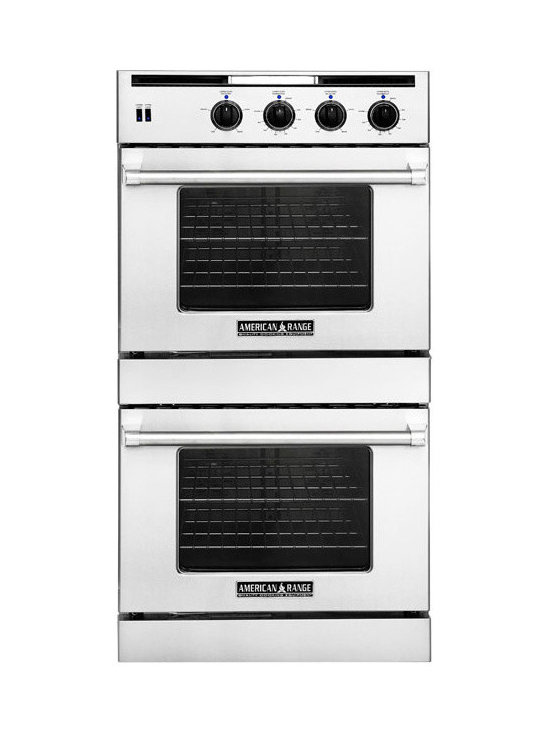 """American Range 30"""" Legacy Gas Wall Oven, Stainless Steel 
