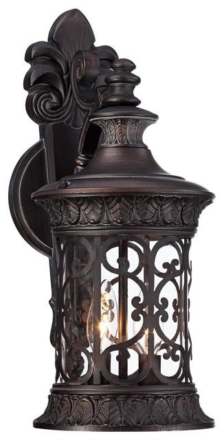 traditional john timberland 17 1 2 high bronze outdoor wall light. Black Bedroom Furniture Sets. Home Design Ideas