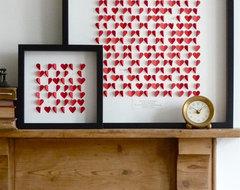 hearts rustic