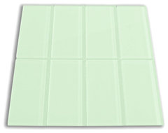 Surf Glass Subway Tile 3 x 6 modern kitchen tile