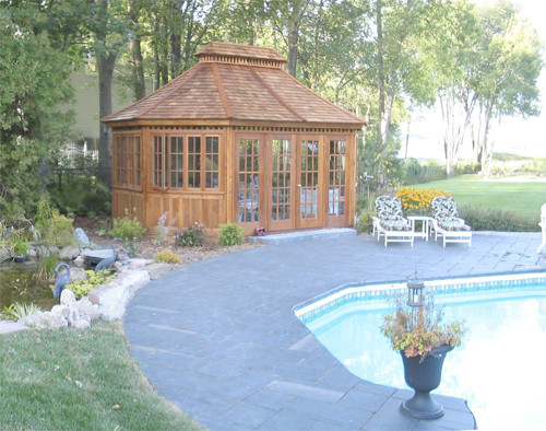 Champlain Gazebo traditional gazebos