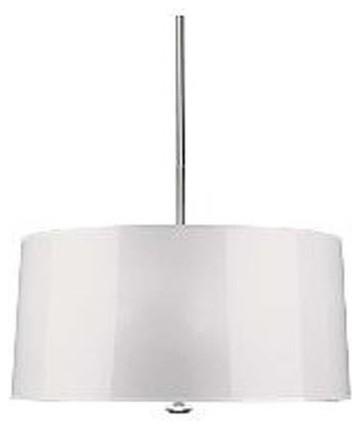 Robert Abbey Penelope Pendant, White traditional-pendant-lighting