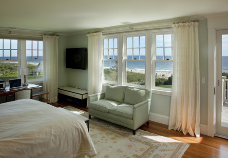 Watch Hill Rhode Island Residence beach-style-bedroom