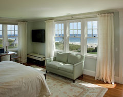 Watch Hill Rhode Island Residence beach-style-bedroom