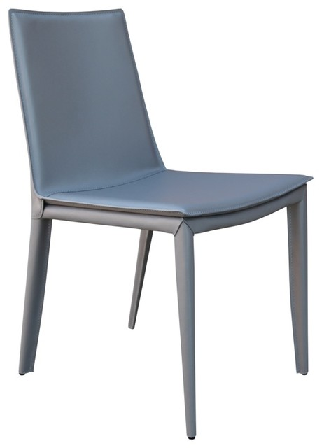 Tiffany Dining Chair by sohoConcept - Grey Bonded Leather