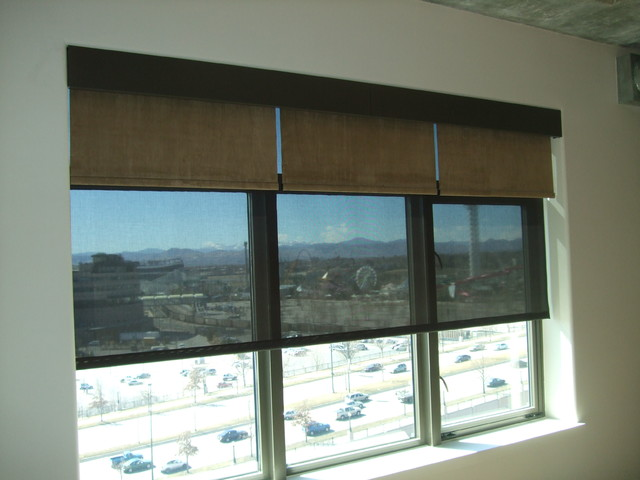 Motorized Shades Roller Shades Denver By Brian Richards