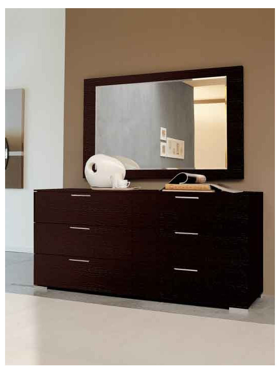 Enter Double Dresser By Doimo - Grooming can`t get any better than this. The Enter Double Dresser is a fine piece of grooming furniture with a simple captivating design. Simplicity and style are written all over the Enter Double Dresser. The fine Italian design zeroes in on a perfect mix of utility, convenience, durability, and style. The Enter Double Dresser symbolizes perfect craftsmanship and excellence in detail. In fact, with the Enter Double Dresser, you will feel euphoric to get dressed and groomed.