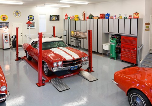 Modern Garage And Shed by Bartlett Closet & Home Storage Designers Closet Organizing Systems