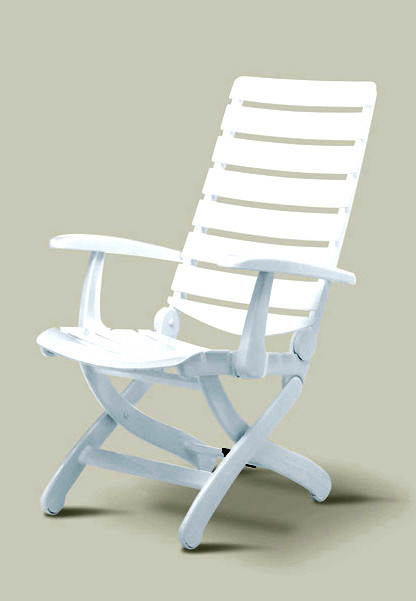 Adjustable Patio Chair w High Back Tiffany Traditional Outdoor Lounge Ch