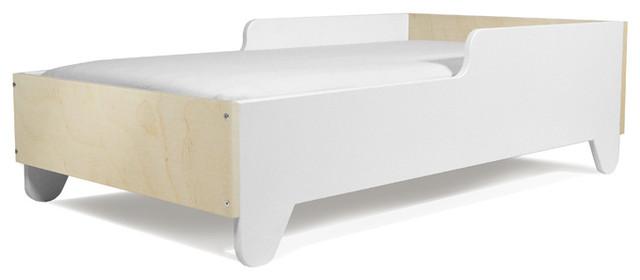 Hiya Toddler Bed, Birch Head/Footboard modern-toddler-beds