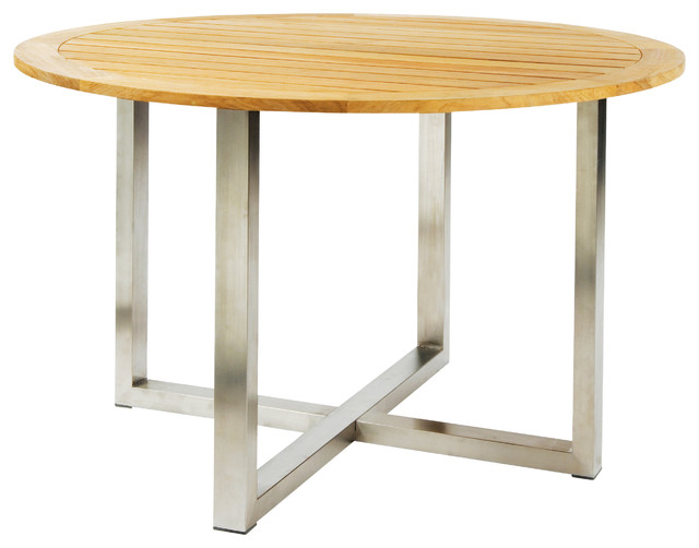 Tiburon Round Dining Table By Kingsley Bate Modern  : modern outdoor tables from www.houzz.com size 640 x 502 jpeg 46kB