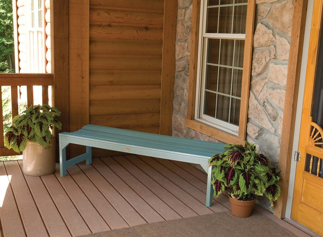 Coastal Teak featured on the Kepner Bench outdoor-benches