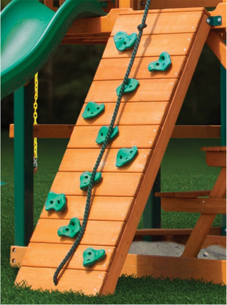 Gorilla Playsets Rock Climbing Wall traditional-outdoor-swingsets