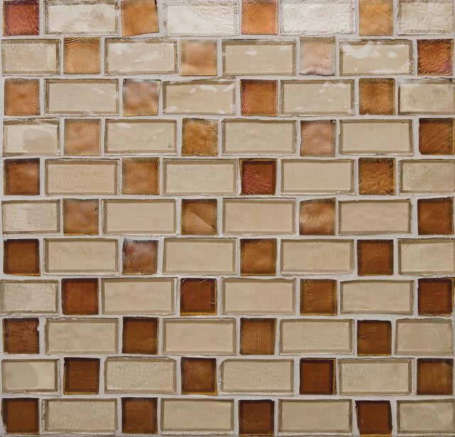 Basketweave eclectic-tile