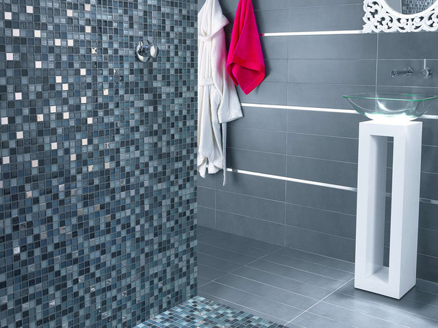 Dune USA modern bathroom tile