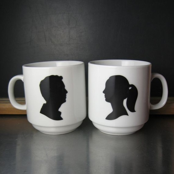 eclectic mugs by Etsy