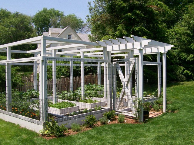 Home Garden System traditional-outdoor-planters