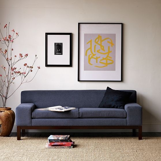 Lorimer Sofa Modern Sofas By West Elm
