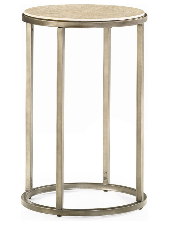 Small Round Side Table - Modern Basics by Hammary -
