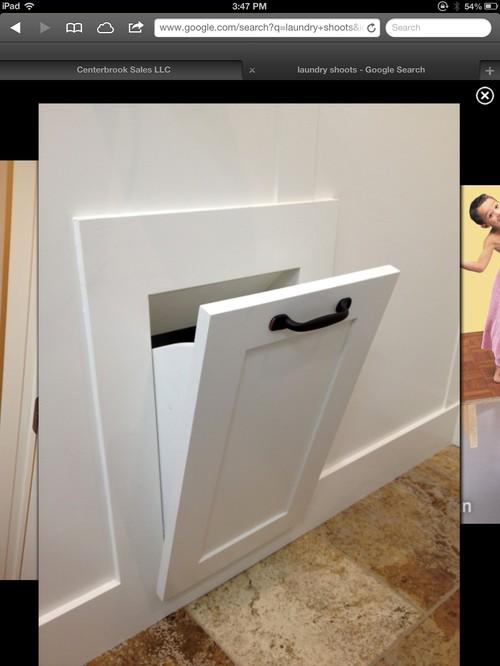Laundry chute for Laundry chute design