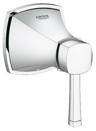 Grohe 19944000 Grandera Concealed Valve Exposed Part, Chrome contemporary-kitchen-faucets