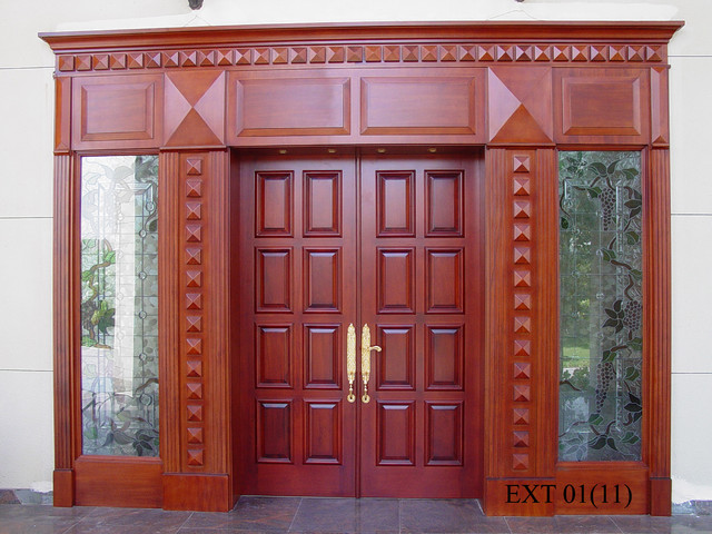 Main door traditional furniture other metro by al for Traditional main door design