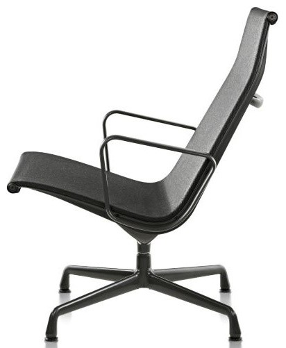 Eames aluminum group outdoor lounge chair by herman miller - Eames chaise lounge chair ...