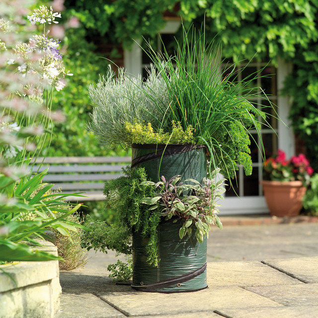 Herb Planters Best With Outdoor Herb Garden Planters Image