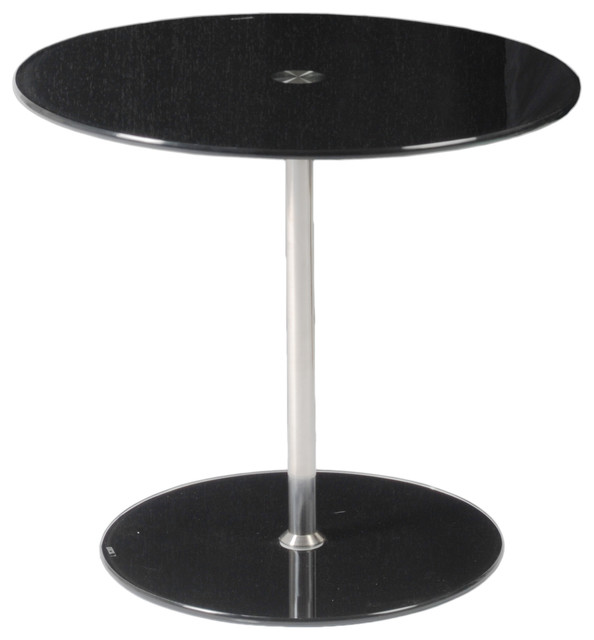 Raina Side Table-Black contemporary-side-tables-and-end-tables