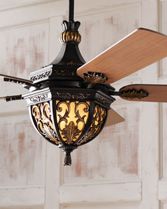 """Lambrusco"" Ceiling Fan traditional-ceiling-fans"