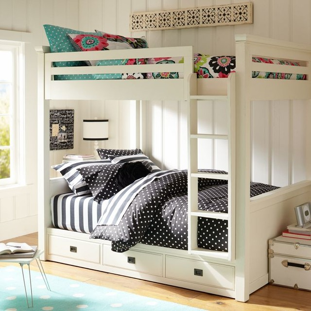 Oxford Bunkbed Beds other metro by PBteen