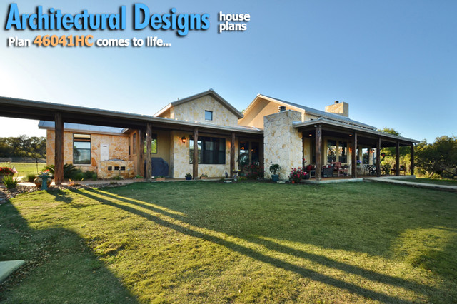 House Plans And Design Architectural Designs Hill Country