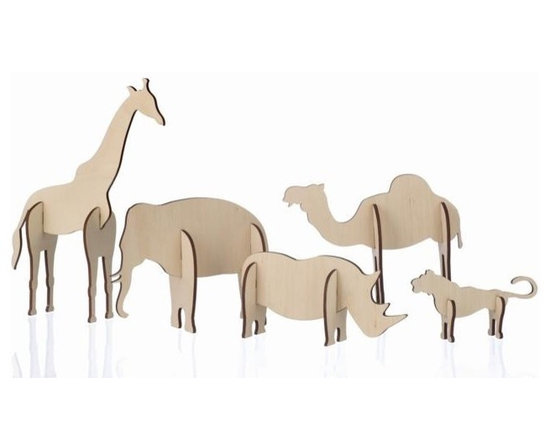 Ferm Living Plywood Animals - Ferm Living Plywood Animals