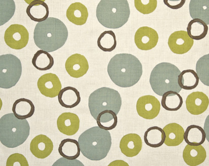 Donuts Fabric by Galbraith and Paul contemporary upholstery fabric