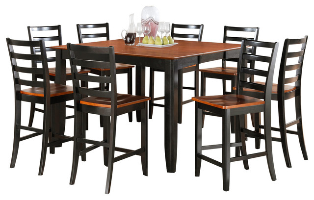 Pub Table With 8 Chairs Chealsea 9 Pieces Counter Height