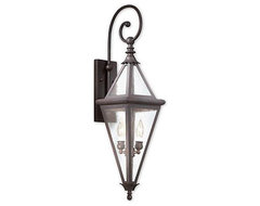 Geneva 2-light Wall Lantern traditional wall sconces
