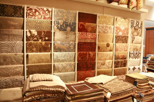 Designer Rugs Showroom eclectic-carpet-tiles