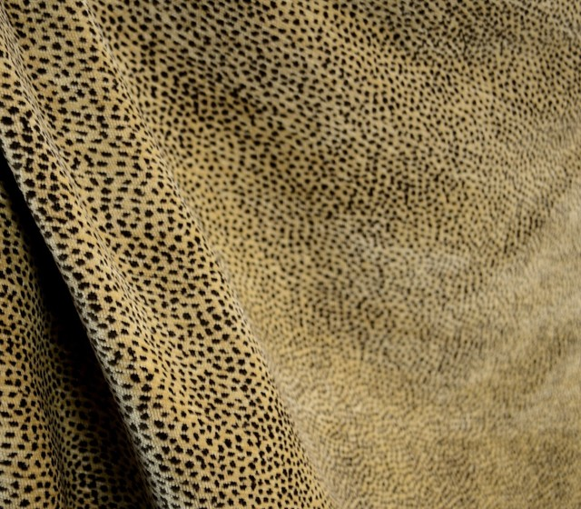 Siamese Nugget Reversible Chenille Animal Print Upholstery